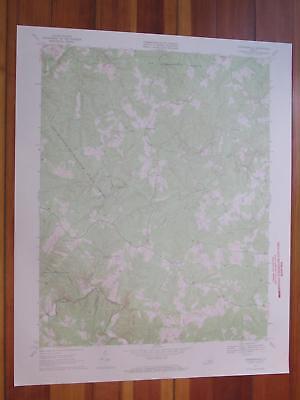 Andersonville Virginia 1971 Original Vintage USGS Topo Map