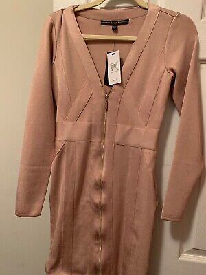 guess dress size medium, new brand , not used , nude color best