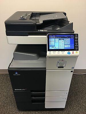 Konica Minolta Bizhub C224 Copier Printer Scanner Network Only 90k Color Pages