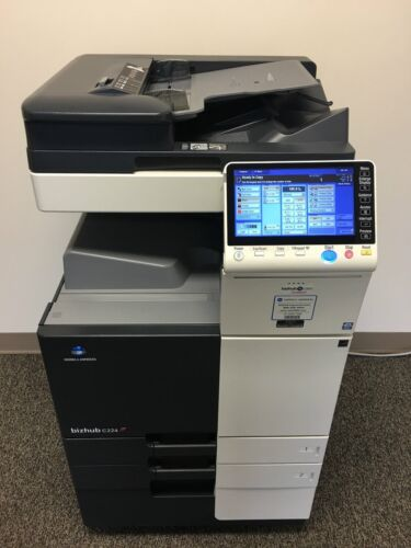 Konica Minolta Bizhub C224 Copier Printer Scanner Network Only 90k Color Pages