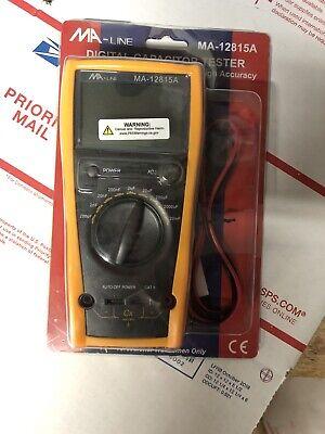 Ma Line Digital Capacitor Tester