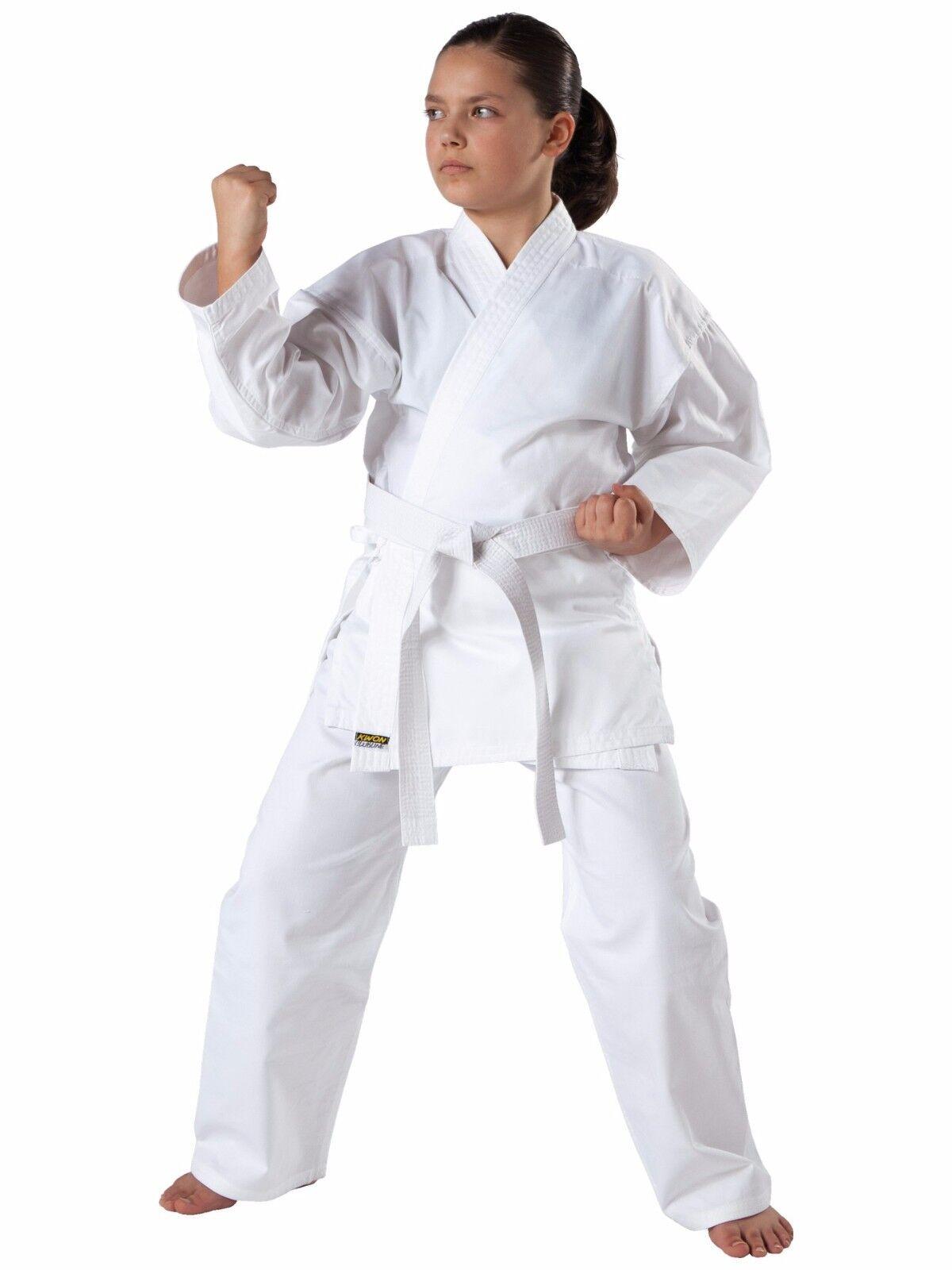 Karateanzug, Kwon®  Renshu 100-200, mit Gürtel, Perfekter Einsteigeranzug
