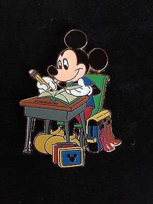 Back To School Stores (Disney Store Back-to-School Series Mickey Mouse at Desk Large LE 250)