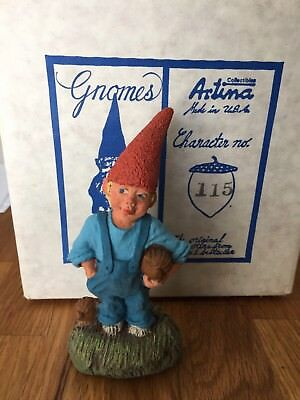 #115 Jan Artina Collectible Gnome, Rien Poortvliet First edition Gnomes