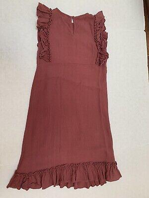 Stella McCartney Kids Girls Viscose Ruffled Dress Size 8 Adorable