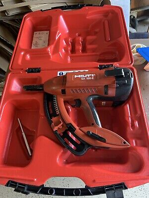 Hilti Gx 100 E Fully Automatic Gas-actuated Fastening Tool Nail Gun