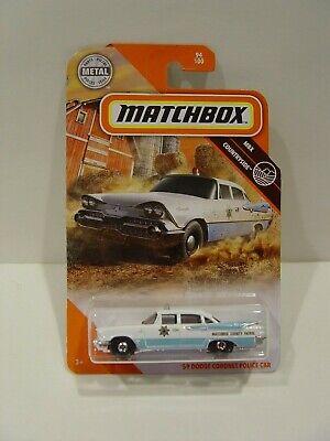 MATCHBOX '59 DODGE CORONET POLICE CAR