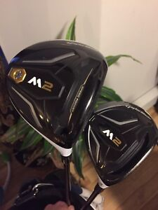 M2 driver and 3 wood