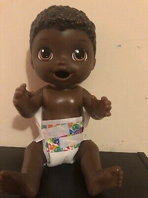 Baby Alive Super Snacks Snackin' Luke - African American Nurturing Toy, used for sale  Shipping to Canada