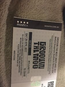 GROOVIN THE MOO MAITLAND TICKET Ashtonfield Maitland Area Preview