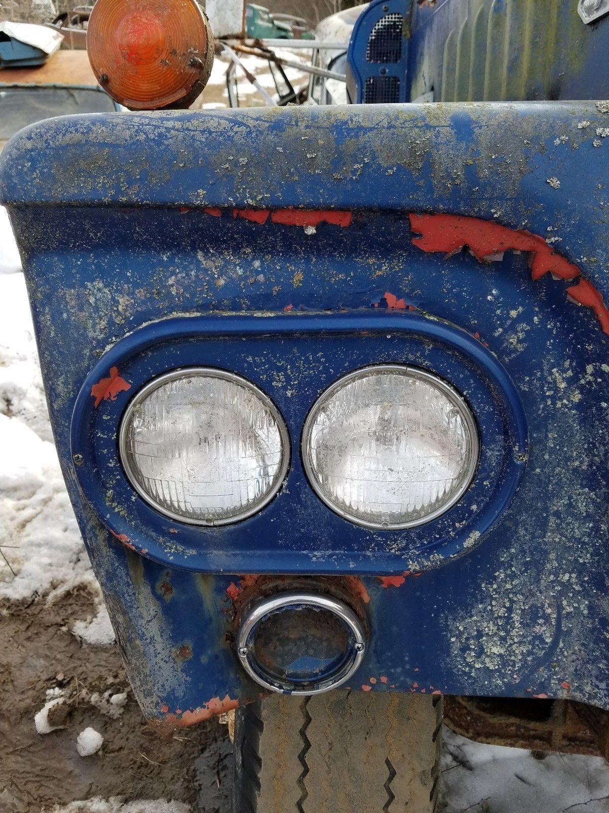1961 DODGE TRUCK 700 HI TONNAGE HEADLIGHT BUCKET SURROUND LH DRIVERS
