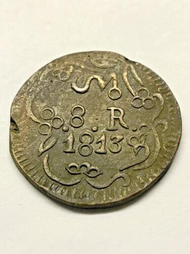 1813 Mexico SUD 8 Reales XF/AU #15055
