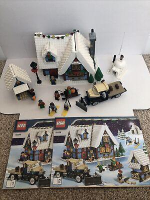 LEGO CREATOR SET 10229 WINTER VILLAGE COTTAGE CHRISTMAS MINIFIGURE MANUALS