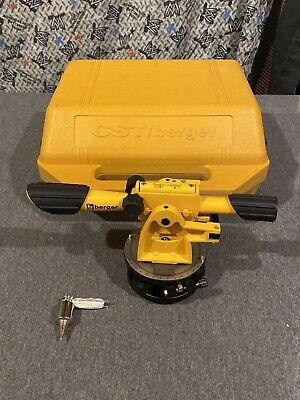 Cstberger 54-140b Transit Level With Case