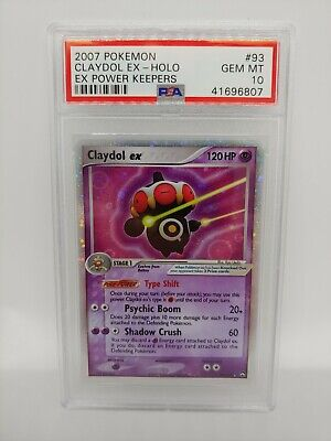 POKEMON EX POWER KEEPERS CLAYDOL EX #93/108 ULTRA RARE HOLO PSA 10 GEM MINT