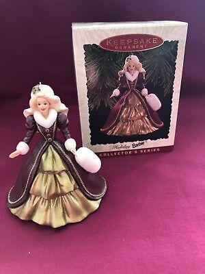 1996 Holiday Barbie, Hallmark Keepsake Ornament, New In the Original Box