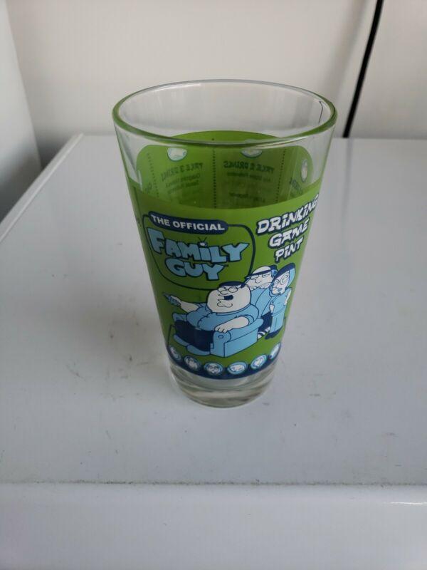 Family Guy Glass