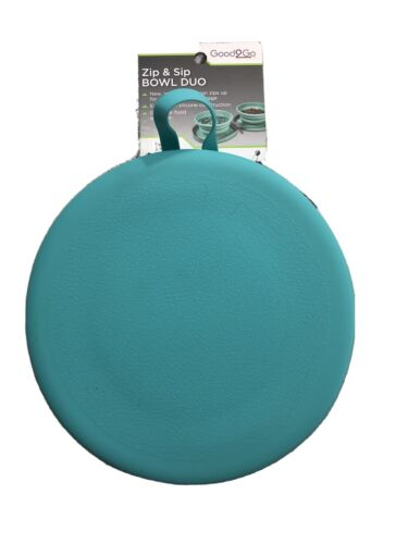 Double Collapsible Dog Bowl for Food & Water - Pets on The Go