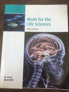 Math for the Life Sciences textbook