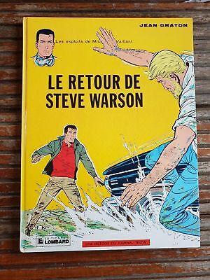 bande dessinée BD : MICHEL VAILLANT 9 le retour de steve warson