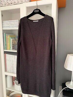 T Alexander Wang silk cotton knitted jumper dress sz M