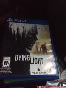 (Ps4)Dying light,final fantasy,bloodborne and shadow of Mordor