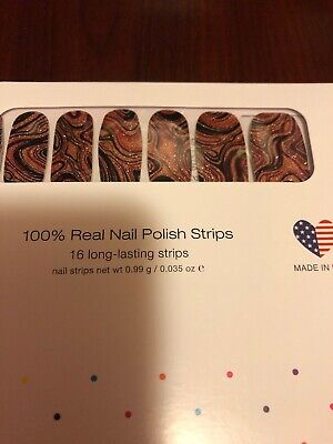 Color Street Best Of Both Swirls  100% Nail Polish Strips