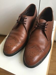 EXCEPTIONAL VINTAGE PRAIRIE OXHIDE BROGUE SHOES MENS SIZE 9-10
