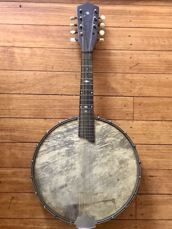 Wurlitzer  Vintage Antique Banjolin Mandolin Banjo 1920s