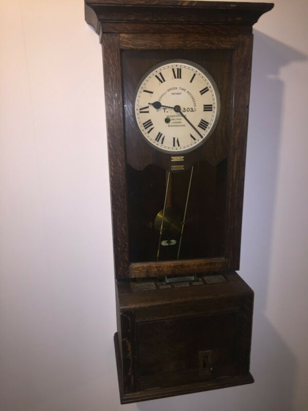 Gledhill Brook Employee Time Recorder, Complete