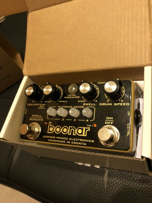 Dawner Prince BOONAR Multi-Head Drum Echo Guitar Effects Pedal