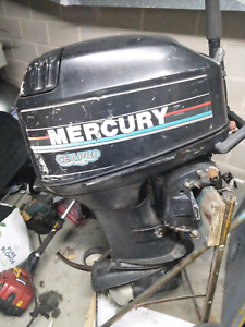 40hp outboard for parts or repair
