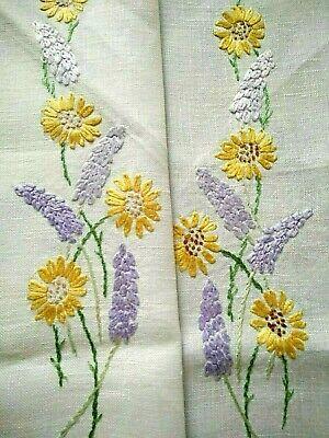 Details about  /Blue/&yellow flowers Home decoration. primula -primrose Handmade crochet