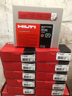 HILTI 1000 Kartuschen für DX 460 und DX A41 Rot+ HILTI 1000 Stk.X-P 72MX Nägel