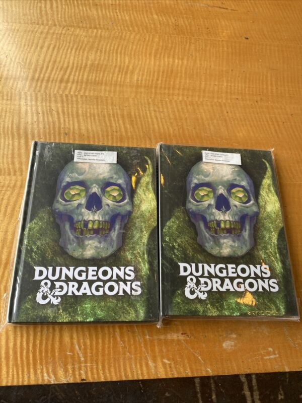 Rare Two Dungeons & Dragons Monster Notebooks Wizards Of The Coast 6x8 Hardcover