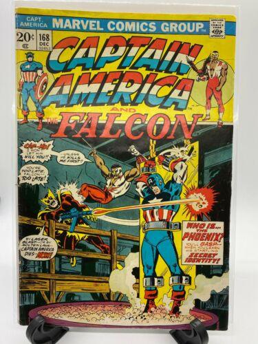 MARVEL COMICS CAPTAIN AMERICA #168 1973!!!
