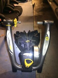 Cycleops magnetic trainer package