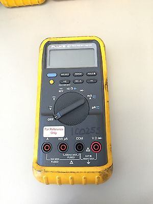 Fluke 87 Series Multimeter W Case Working Condition