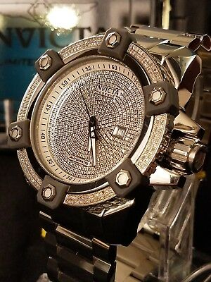 Invicta Reserve Grand Octane Limited Edition Swiss Automatic 3+ctw Diamond Watch