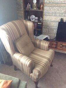 Two mint condition sitting chairs