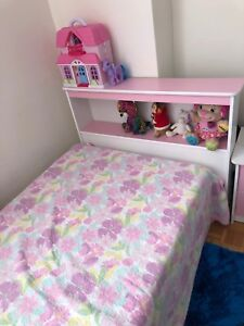 Pink Girl bed only no mattress