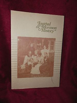 JOURNAL OF MORMON HISTORY Volume 6 1979 LDS Mormon Book  ()