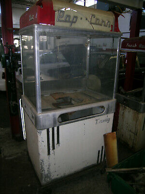 Manley Popcorn Machines 2 For Parts Only Vintage 1940s