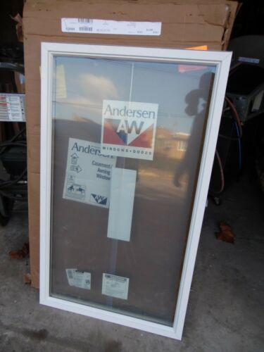 "Andersen CW14 Casement Window Sash Double Pane Glass 27.5 X 46.5"" New Old Stock"