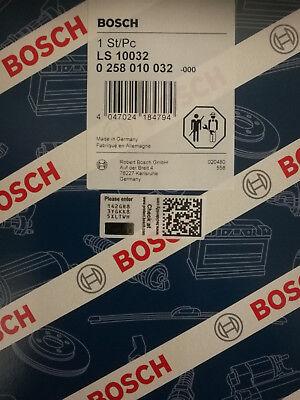 Original Bosch Lambdasonde 0258010032 Audi VW Seat Skoda NEU + OVP