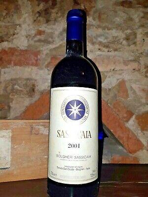 SASSICAIA TENUTA SAN GUIDO 2001