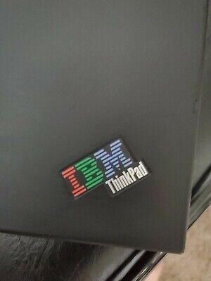 IBM Laptop Untested No Power Cord