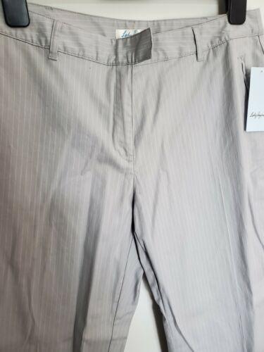 Golf Pants Lady Hagen Brand, Women, Size 12 Gray Striped