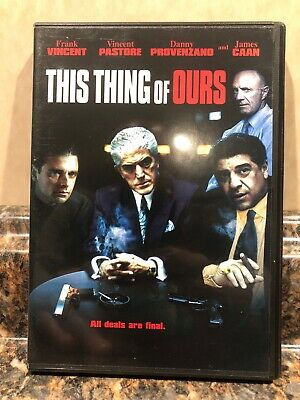 This Thing of Ours DVD (2006) Frank Vincent Mafia Mob Heist Thriller