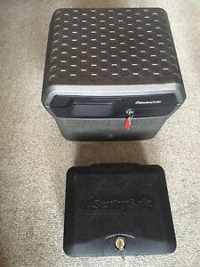 2 Brand new SentrySafe Fireproof Safety Deposit Boxes (unused)